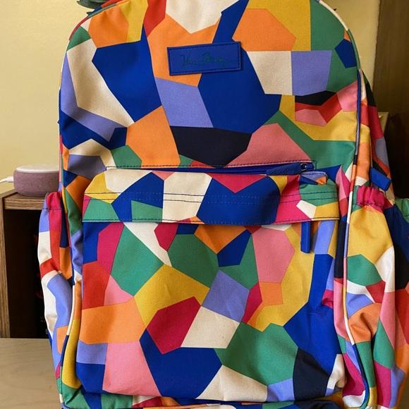 Vera Bradley large backpack. Laptop section
